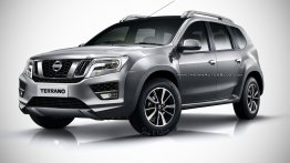 Will the 2017 Nissan Terrano (facelift) look like this?