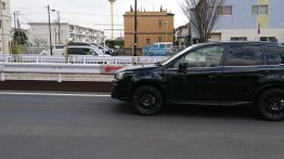 2019 Subaru Forester spied testing in Japan
