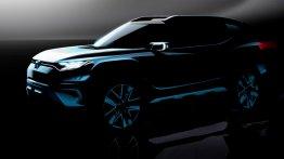 SsangYong XAVL concept announced for 2017 Geneva Motor Show