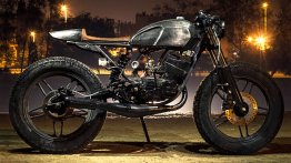 Custom Yamaha RX135 cafe racer by Bull City Customs
