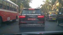 435 hp Audi SQ7 TDI spotted testing in India