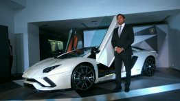 Lamborghini Aventador S LP740-4 launched in India at INR 5.01 crores