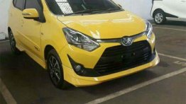2017 Toyota Agya (facelift) spied undisguised for the first time