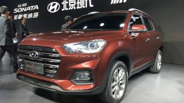 2018 Hyundai ix35 to be listed in the Chinese market in December
