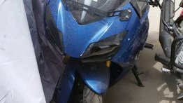 Production TVS Akula 310 completely exposed in spyshots