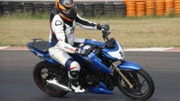 TVS Apache RTR 200 Track Experience - IAB Report