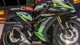 2018 Kawasaki Ninja 250 rendering shows a sporty side profile