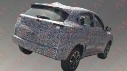 Pure electric version of the Honda HR-V spotted testing in China