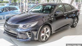 Kia Optima GT bookings commence in Malaysia