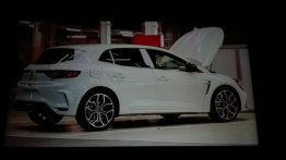 2017 Renault Megane RS interior & exterior leaks out