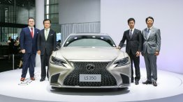 2018 Lexus LS 350 variant unveiled in China