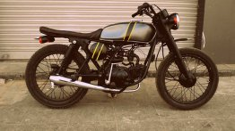 Hero Honda CD Deluxe 'Tracker' by Ayas Custom Motorcycle