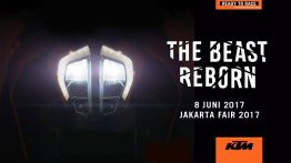 KTM Indonesia teases the 2017 KTM Duke ahead of June 8 launch