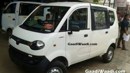 Mahindra Jeeto passenger van spied undisguised for the first time