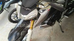 Suzuki GSX-S150 modified as a trail bike - Indonesia