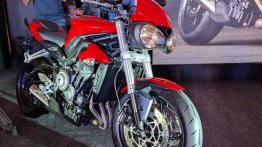 2017 Triumph Street Triple S launched in India at INR 8.50 lakhs