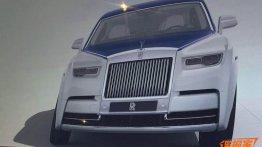 2018 Rolls-Royce Phantom leaked via Chinese brochure scans