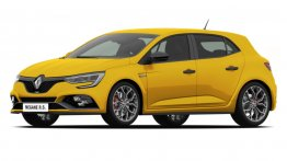 2018 Renault Megane RS & 2018 Renault Megane GT revealed in patent leaks