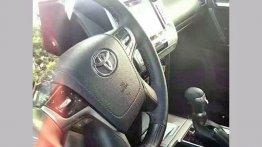 New spy shots reveal interior specifics of the 2018 Toyota Prado