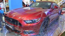 Ford Mustang showcased at Nepal Auto Show 2017