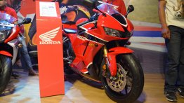 2017 Honda CBR 600RR showcased at Nepal Auto Show 2017