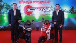 Honda Cliq launched in Tamil Nadu at INR 44,524