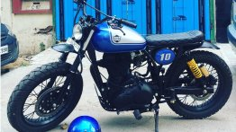 Royal Enfield Bullet 500 'RE- 500 Tracker' by Rajputana Customs