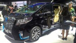 Toyota Hiace Luxury & Toyota Alphard Hybrid - GIIAS 2017 Live