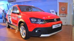 VW Cross Polo 1.6 showcased at Nepal Auto Show 2017