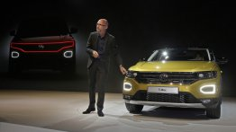 VW sales chief specifically mentions India at the VW T-Roc's world premiere