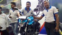 Yamaha FZ25 showcased at Colombo Motor Show 2017