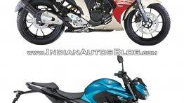 Yamaha Fazer 25 vs. Yamaha FZ25 - Pictorial & Spec comparison
