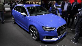 2017 Audi RS 3 Sportback at the IAA 2017 - Live
