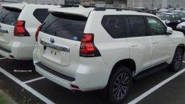 2018 Toyota Land Cruiser Prado spotted at a dealer yard in Japan [Update]