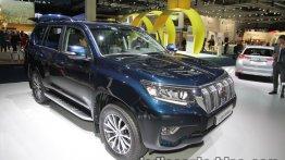 2018 Toyota Land Cruiser Prado showcased at IAA 2017 - Live