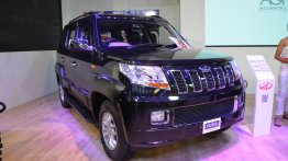 Accessorised Mahindra TUV300 showcased at Nepal Auto Show 2017