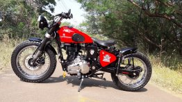 Custom Royal Enfield Electra 350 by Team DJ Customs