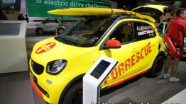 Smart ForFour Brabus Forrescue at the IAA 2017 - Live