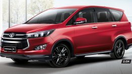 Dual-tone Toyota Innova Crysta Leadership Edition to be launched this month