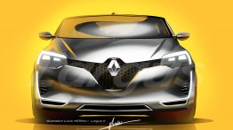 2019 Renault Clio Mk5 rendered based on the Symbioz concept
