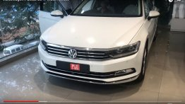 India-spec 2017 VW Passat completely revealed at dealership - In 10 Live Images