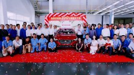 Production of India-bound MG Motor's MG 6 sedan begins in China