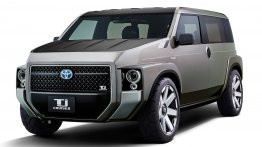 TNGA-based Toyota TJ Cruiser concept is part MPV & part SUV