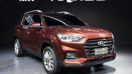 2017 Hyundai ix35's interior spied revealing new details