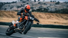 KTM working on an 890 cc Twin - Report