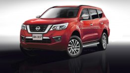 2018 Nissan Paladin (Nissan Navara-based SUV) rendered based on leaks