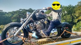 Avantura Choppers spied in India for the first time