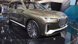 BMW Concept X7 iPerformance showcased at the 2017 Dubai Motor Show