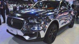 Borgward BX5 chrome showcased at the 2017 Dubai Motor Show