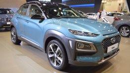 Hyundai Kona showcased at the 2017 Dubai Motor Show